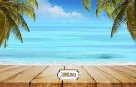 "Фон стена ""Playa wall"""