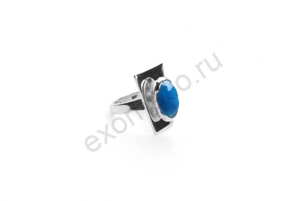 Кольцо ORI-TAO 19-28666C. Коллекция Blue Velvet
