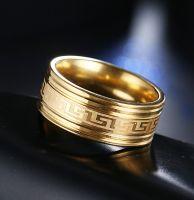 Кольцо с орнаментом Versace