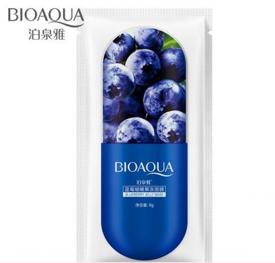 Ночная маска для лица Blueberry Jelly Mask Bioaqua