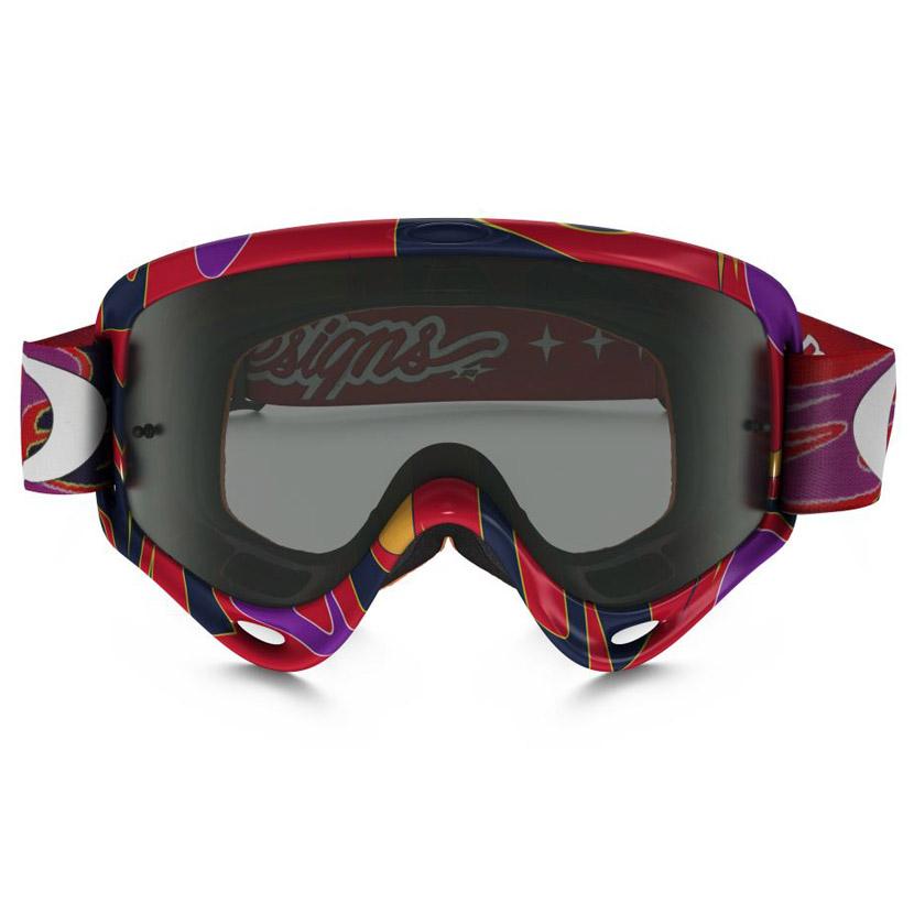 Oakley - O-Frame XS Reflection TLD очки детские красные, линза темно-серая