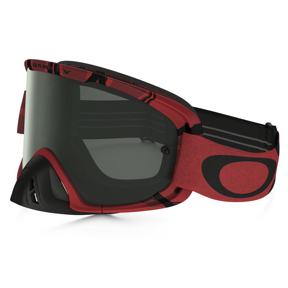 Oakley - O-Frame 2.0 Intimidator очки красно-черные, линза темно-серая