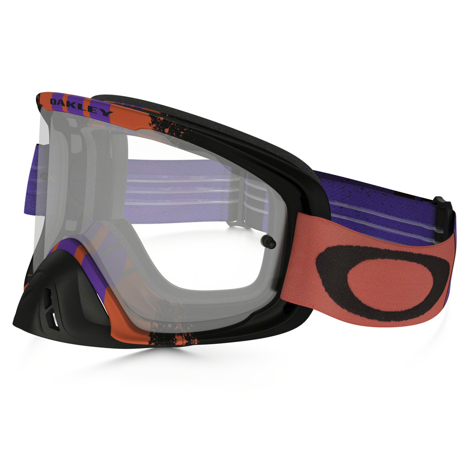Oakley - O-Frame 2.0 Pinned Race очки фиолетово-красные, линза прозрачная