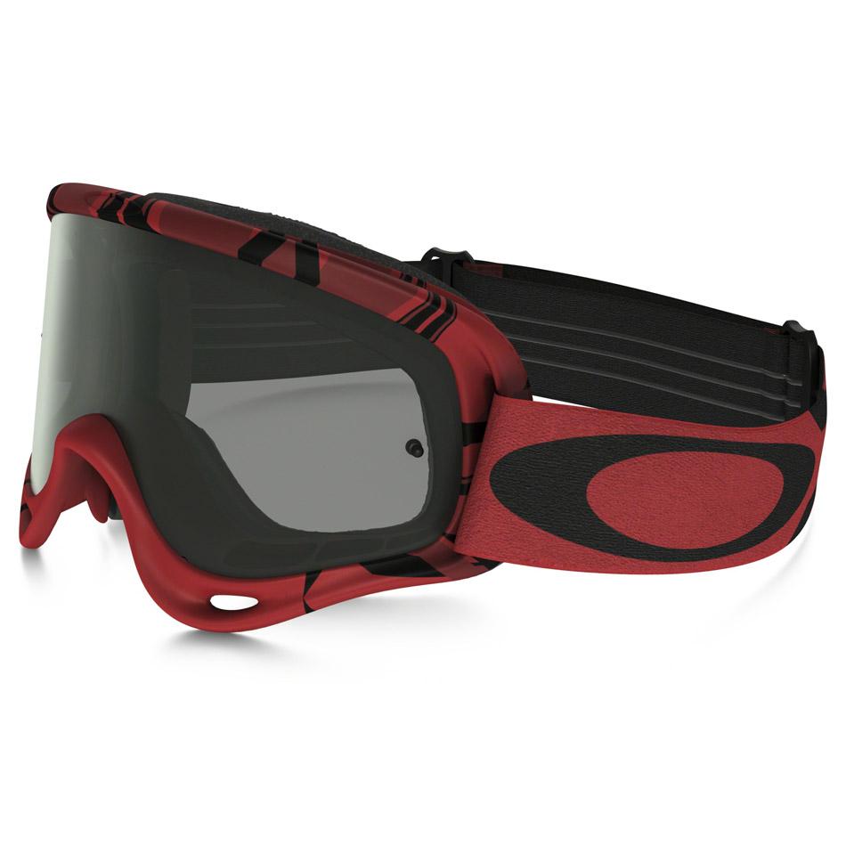Oakley - O-Frame Intimidator очки красно-черные, линза темно-серая