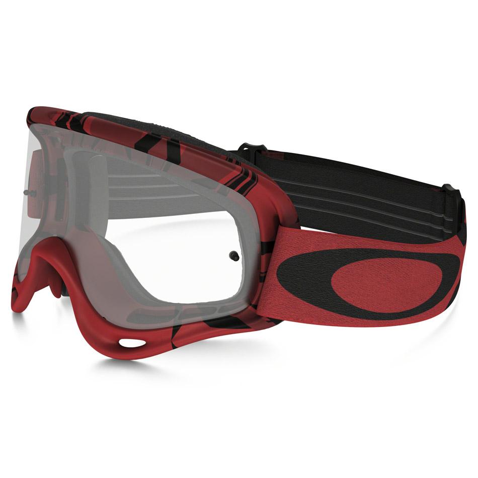 Oakley - O-Frame Intimidator очки красно-черные, линза прозрачная