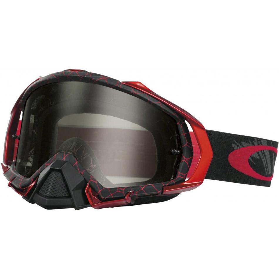 Oakley - Mayhem Pro Reaper очки красно-черные, линза темно-серая