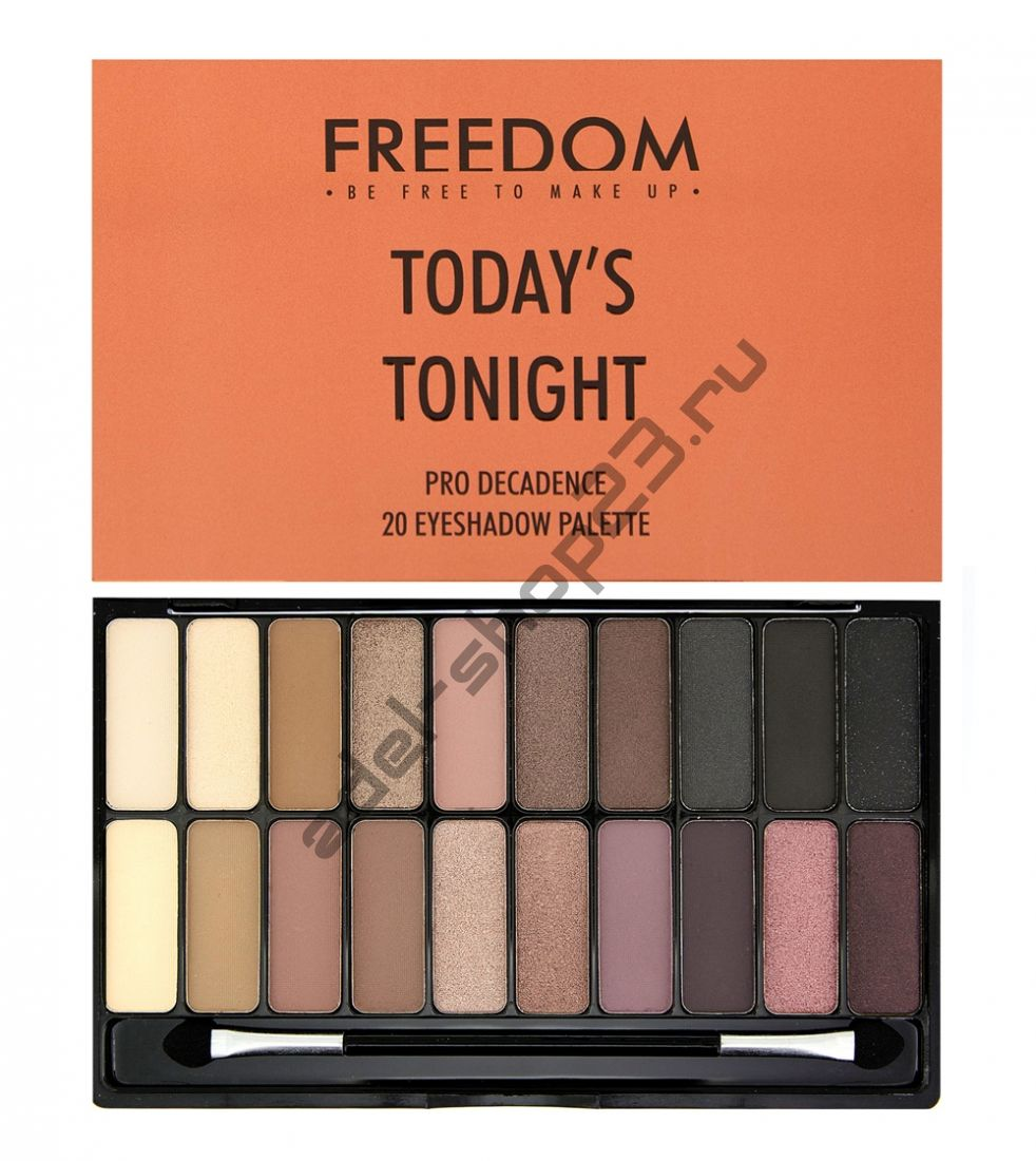 "Freedom Makeup London - Тени для век ""Decadence Palette - Today's Tonight"""