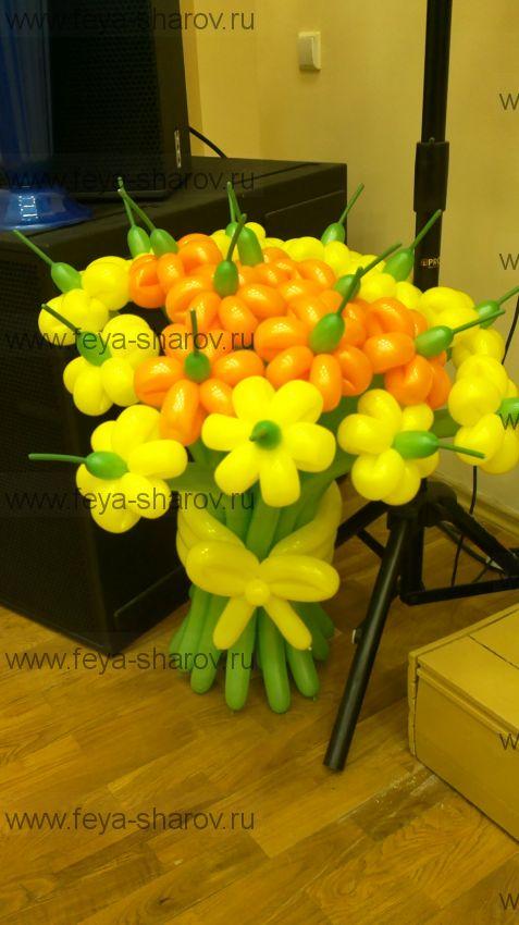 Букет цветов 19 шт