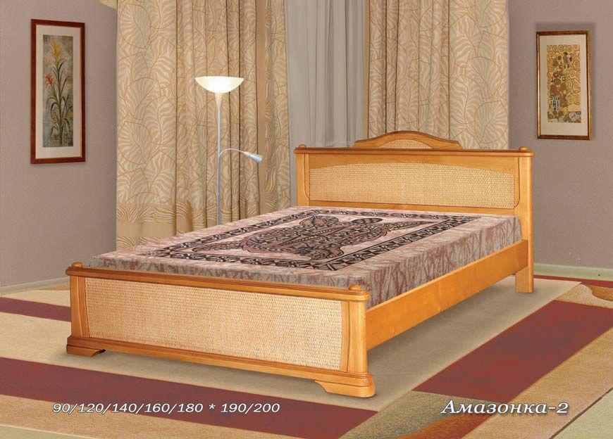 Кровать Амазонка-2 (ротанг) | Альянс XXI век