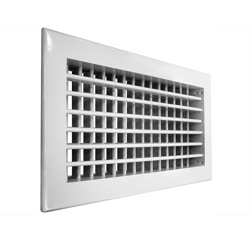 Решетка алюминиевая вентиляционная АДН-К 300х100