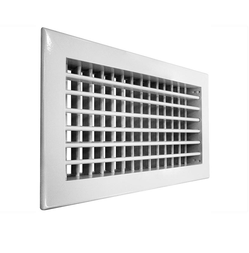 Решетка алюминиевая вентиляционная АДН-К 200х100
