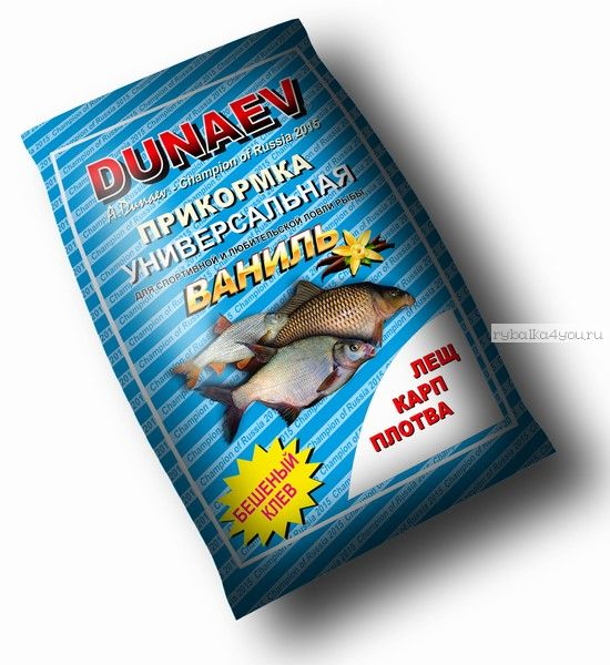 Прикормка Dunaev Классика 0.9кг Ваниль
