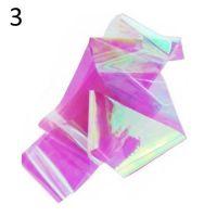 """Фольга/ слюда для дизайна эффект """"Битое стекло"""" №3, розовый"""