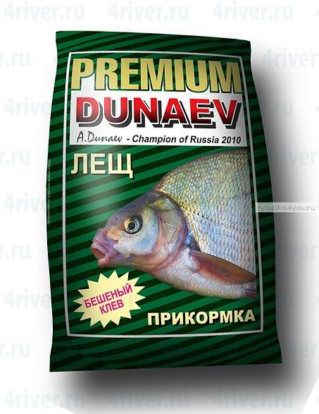 Прикормка Dunaev Premium  1кг Лещ