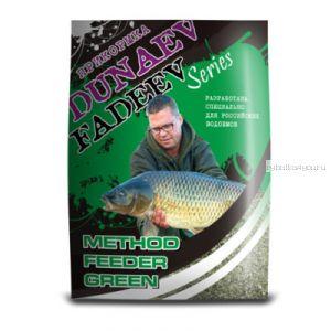 Прикормка Dunaev Fadeev 1кг Feeder Method Green