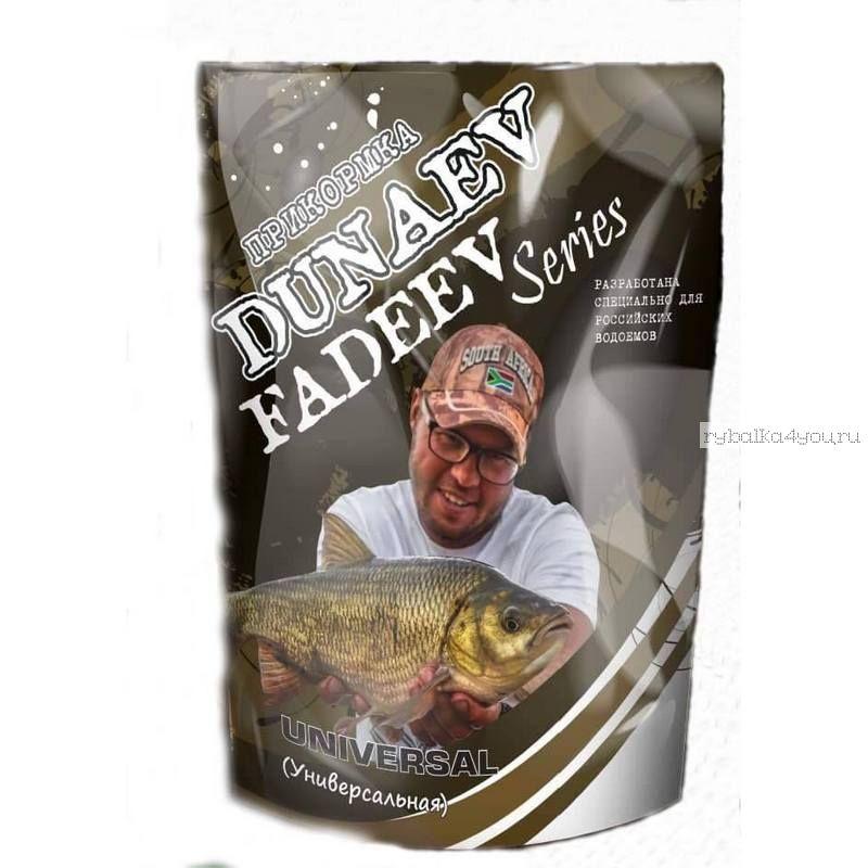 Купить Прикормка Dunaev Fadeev 1кг Feeder Universal