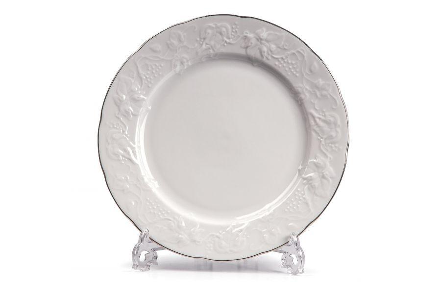 Тарелка десертная 21 см, Filet Platine (Vendange)