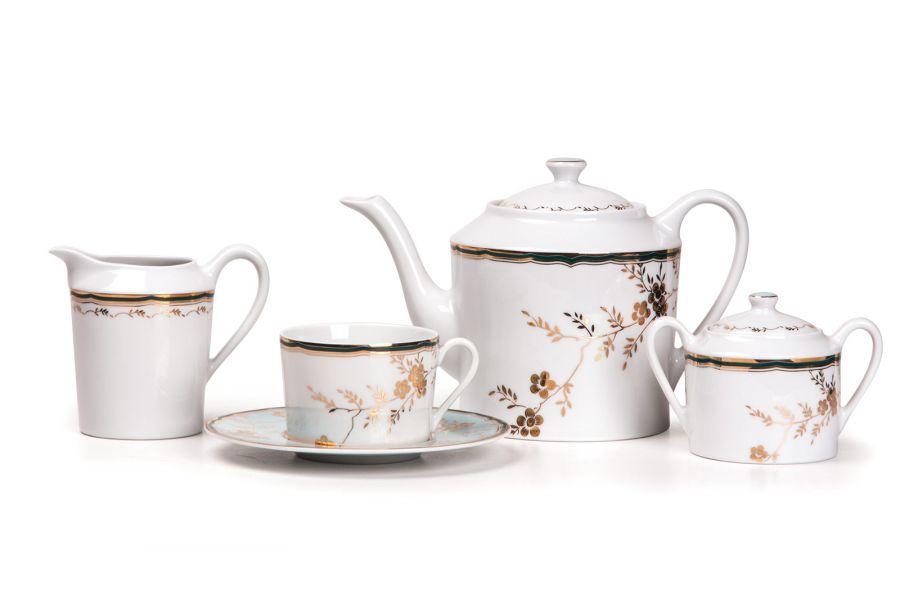 Чайный сервиз на 6 персон Belle epoque (Zen), 15 пр.