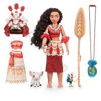 Кукла Моана поющая с одеждой и кулоном