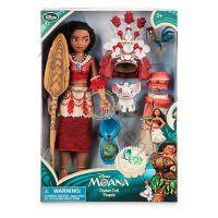 Кукла Моана поющая Дисней с кулоном
