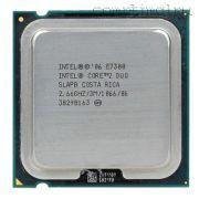 Процессор Intel CoreDuo E7300 - lga775, 45 нм, 2 ядра/2 потока, 2.66 GHz, 1066FSB, 65W [1728]