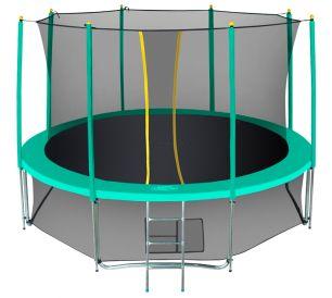 Батут с сеткой Hasttings Classic Green (4,26 м)