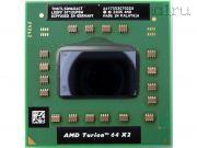 Процессор мобильный AMD Turion 64 X2 TL-50 - S1, 2 ядра/2 потока, 1.6 GHz, TDP-31W [752]
