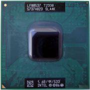 Процессор мобильный Intel T2330 (SLA4K) - 478, 2 ядра/2 потока, 1.6 GHz, TDP-35W [833]