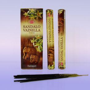 Благовония HEM Hexa SANDAL-VANILLA сандал-ваниль