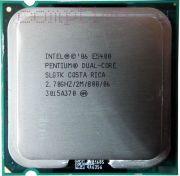 Процессор Intel CoreDuo E5400 - Lga775, 65 нм, 2 ядра/2 потока, 2.7 GHz, 800FSB [1601]