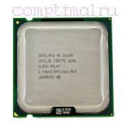 Процессор Intel CoreQuad Q6600 - lga775, 65 нм, 4 ядра/4 потока, 2.4 GHz, 1066FSB [2983]