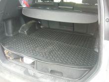 Коврик (поддон) в багажник, Unidec (Norplast), черный