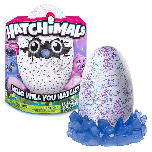 Яйцо Hatchimals Owlicorn розовый/голубой