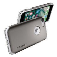 Чехол Spigen Hybrid Armor для iPhone 7 (4.7) серебристый