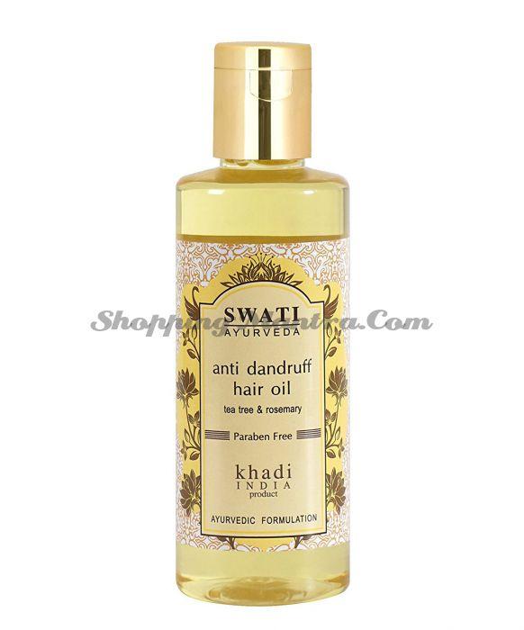 Масло против перхоти Чайное дерево&Розмарин Свати Аюрведа / Swati Anti Dandruff Hair Oil