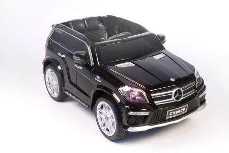 Электромобиль RiverToys Mercedes-Benz GL63 (пласт. сидение) ( видео в описании )