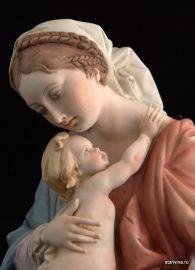 Мадонна с младенцем, Capodimonte, Италия, 1950-е