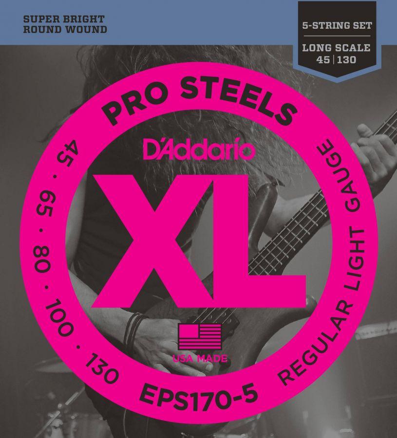 D`ADDARIO EPS-170-5 (045-130) Струны для бас-гитары (5 стр.)