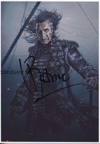 Автограф: Хавьер Бардем. Пираты Карибского моря: Мертвецы не рассказывают сказки