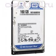 HDD для ноутбука (2,5'') 160GB/7200RPM — Western Digital WD1600BEVS