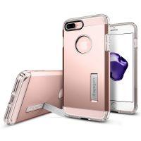 Чехол Spigen Tough Armor для iPhone 7 Plus розовое золото