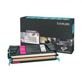 C5220MS Картридж  LEXMARK  пурпурный, оригинальный, лазерный