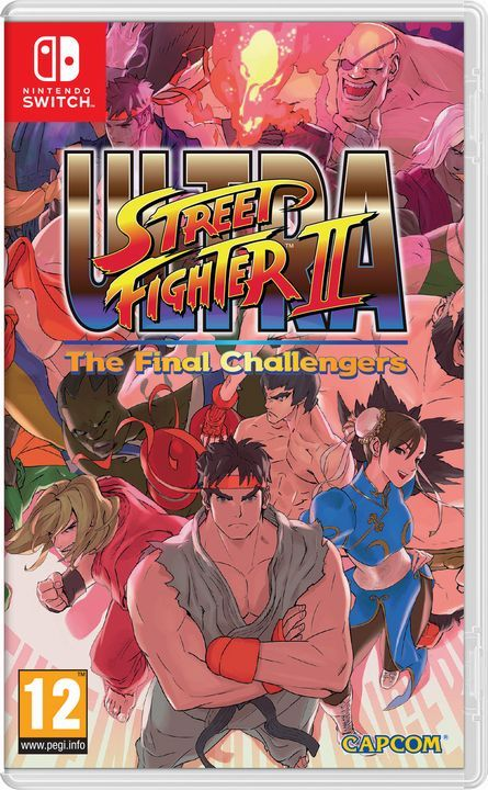 Игра Ultra Street Fighter 2 (Nintendo Switch)