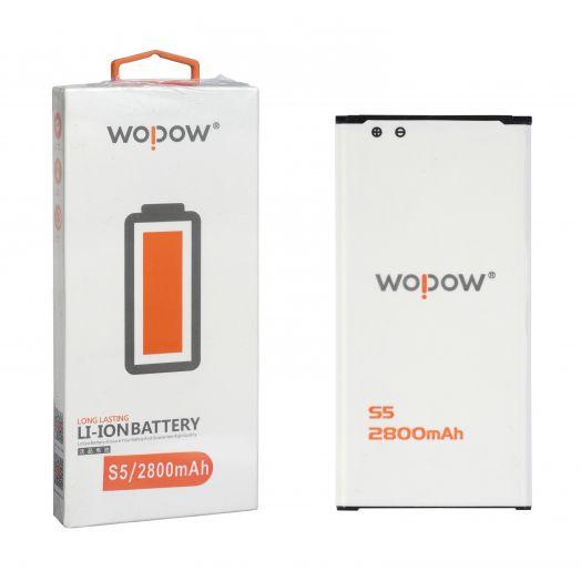 "Аккумулятор для Samsung S5 ""Wopow"""