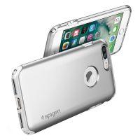 Чехол Spigen Hybrid Armor для iPhone 8/7 Plus (5.5) серебристый