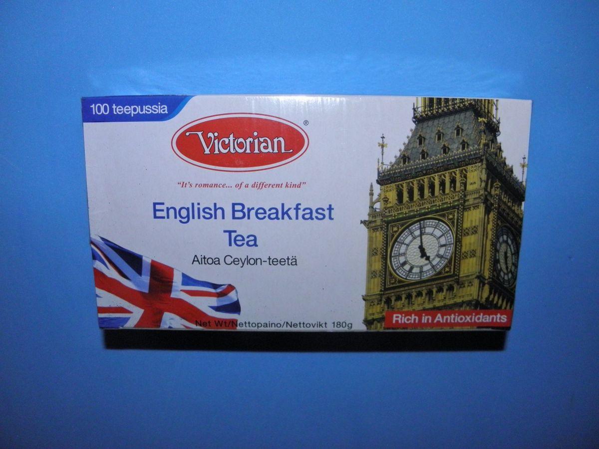 Чай Victorian English Breakfast Tea (Английский завтрак) 100 пакетов