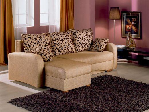Угловой диван Вега Тик-так с боковинами