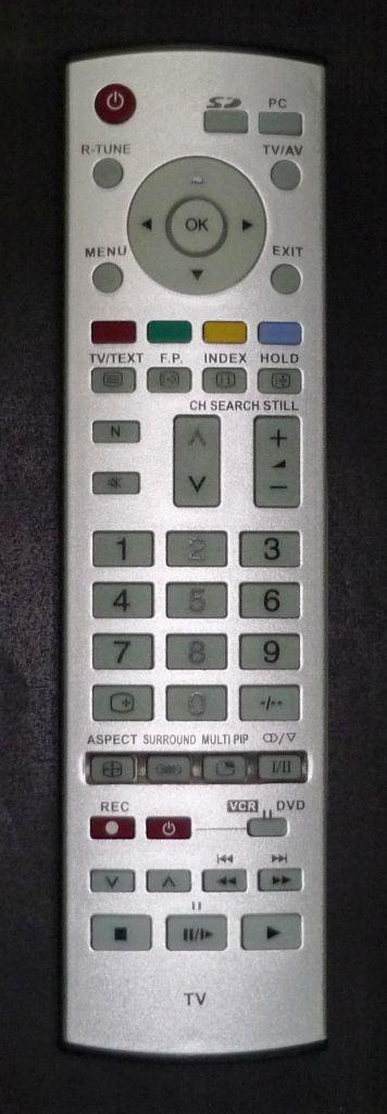 Panasonic EUR7635040 (LCD PIP) (TH-37PA30R, TH-42PA30R, TH-42PV30, TH-50PV30E)