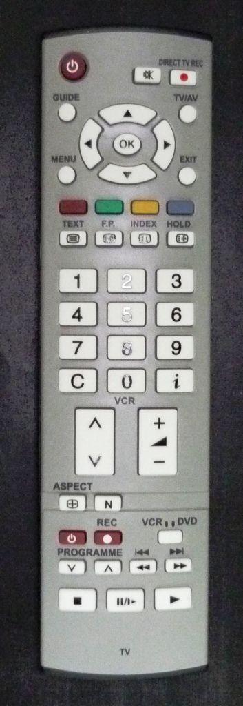 Panasonic EUR7651030A (TV/DVD/VCR) (TX-23LX50P, TX-23LX60P, TX-26LE60PK, TX-26LX50P, TX-32LX60P, TX-R26LE7K, TX-R26LM70K, TX-R32LE7K, TX-R32LM70K)