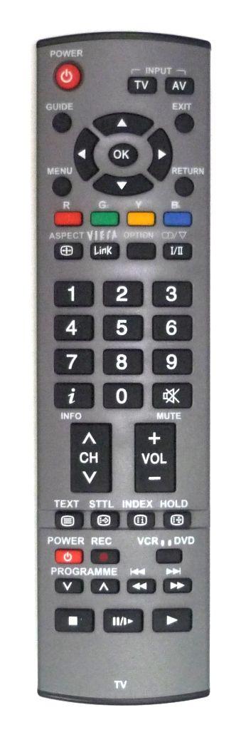 Panasonic EUR7651150 (TV) (TH-37PX7E, TH-42PX7A, TH-42PX7E, TH-50PX7E, TX-26LMD70, TX-26LXD70A)
